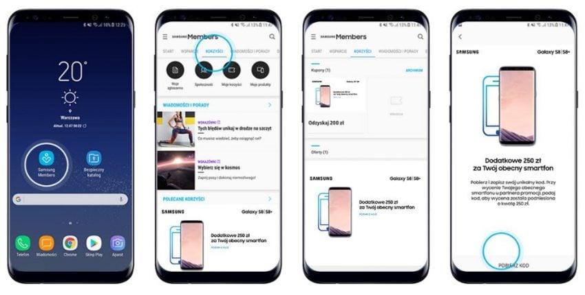 Tabletowo.pl Kupujący Galaxy S8 zadowoleni, właściciele komisów mniej - Samsung daje dodatkowe 250 złotych za sprzedaż starego telefonu Promocje Samsung Smartfony