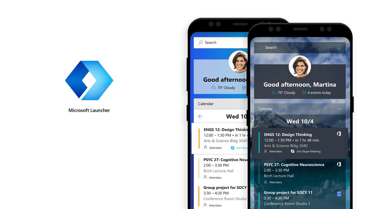 Microsoft Launcher wychodzi z fazy beta