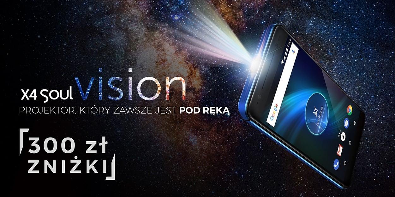 Tabletowo.pl Allview X4 Soul Vision z projektorem debiutuje w Polsce. Jest okazja, żeby kupić go 300 złotych taniej Allview Android Smartfony
