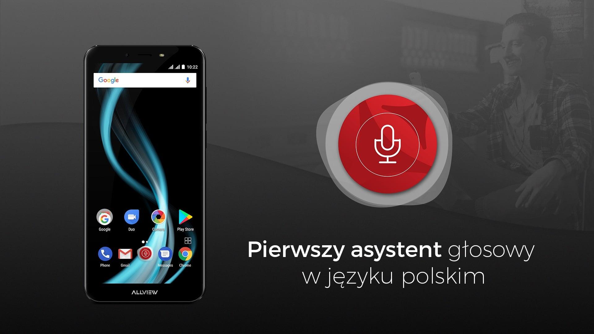 Tabletowo.pl Allview X4 Soul Infinity i X4 Soul Infinity Plus zaoferują asystenta głosowego, rozumiejącego język polski Allview Android Nowości Smartfony