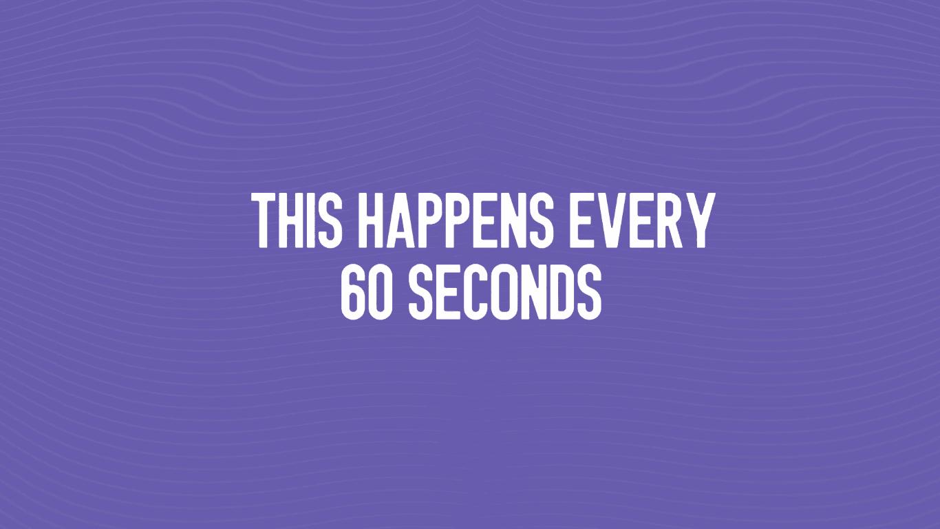 Tabletowo.pl Jesteście ciekawi, co przez 60 sekund dzieję się na Viberze? Naprawdę dużo Ciekawostki Raporty/Statystyki
