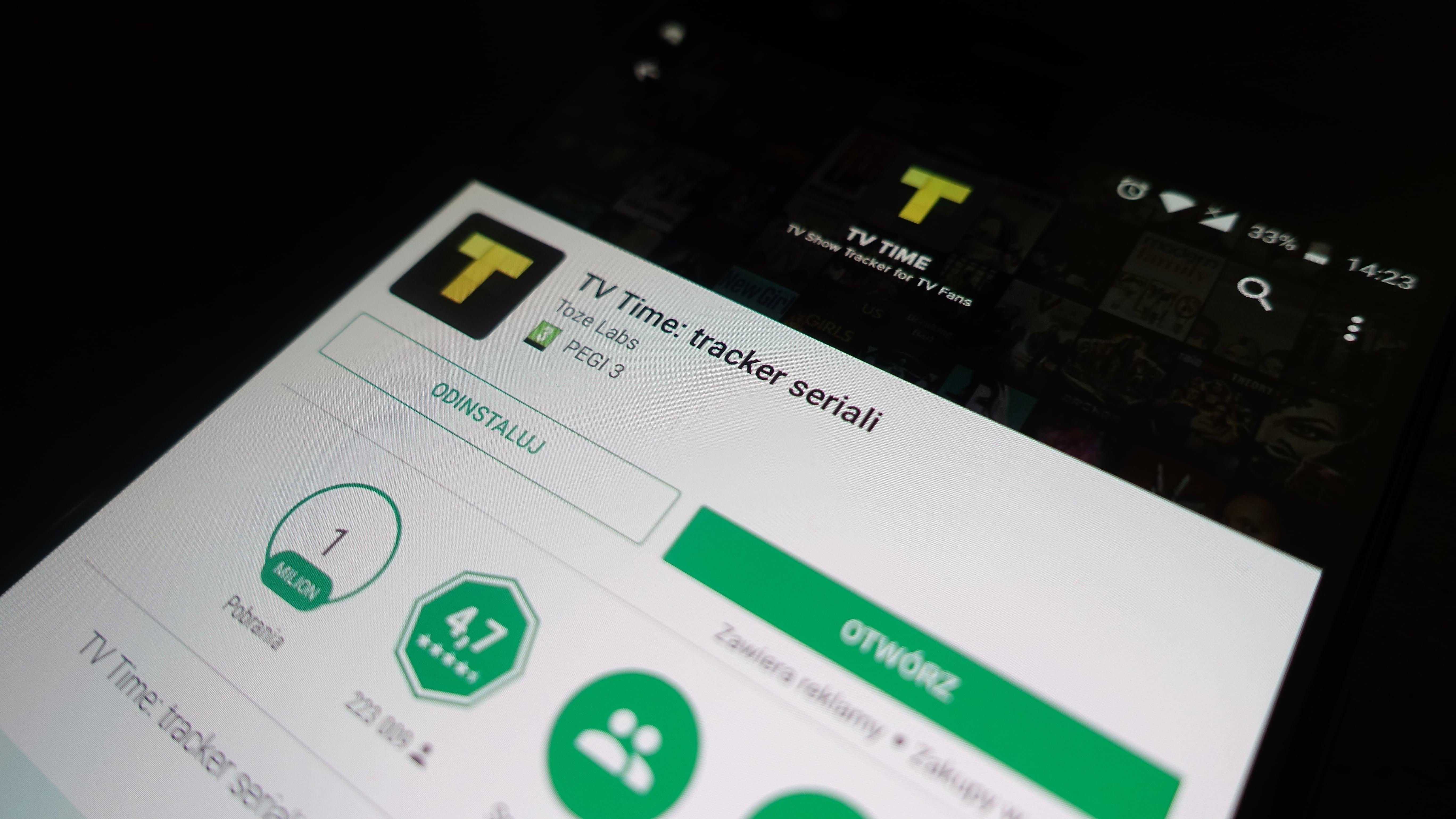 Aplikacja tygodnia #5 - TV Time: tracker seriali 21