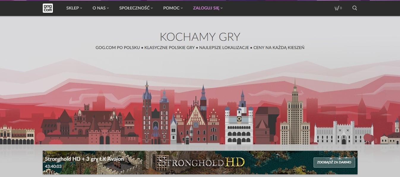Tabletowo.pl Sklep z grami GOG.com w końcu po polsku. Można też zgarnąć za darmo 4 gry, a wiele innych z rabatami Gry Promocje