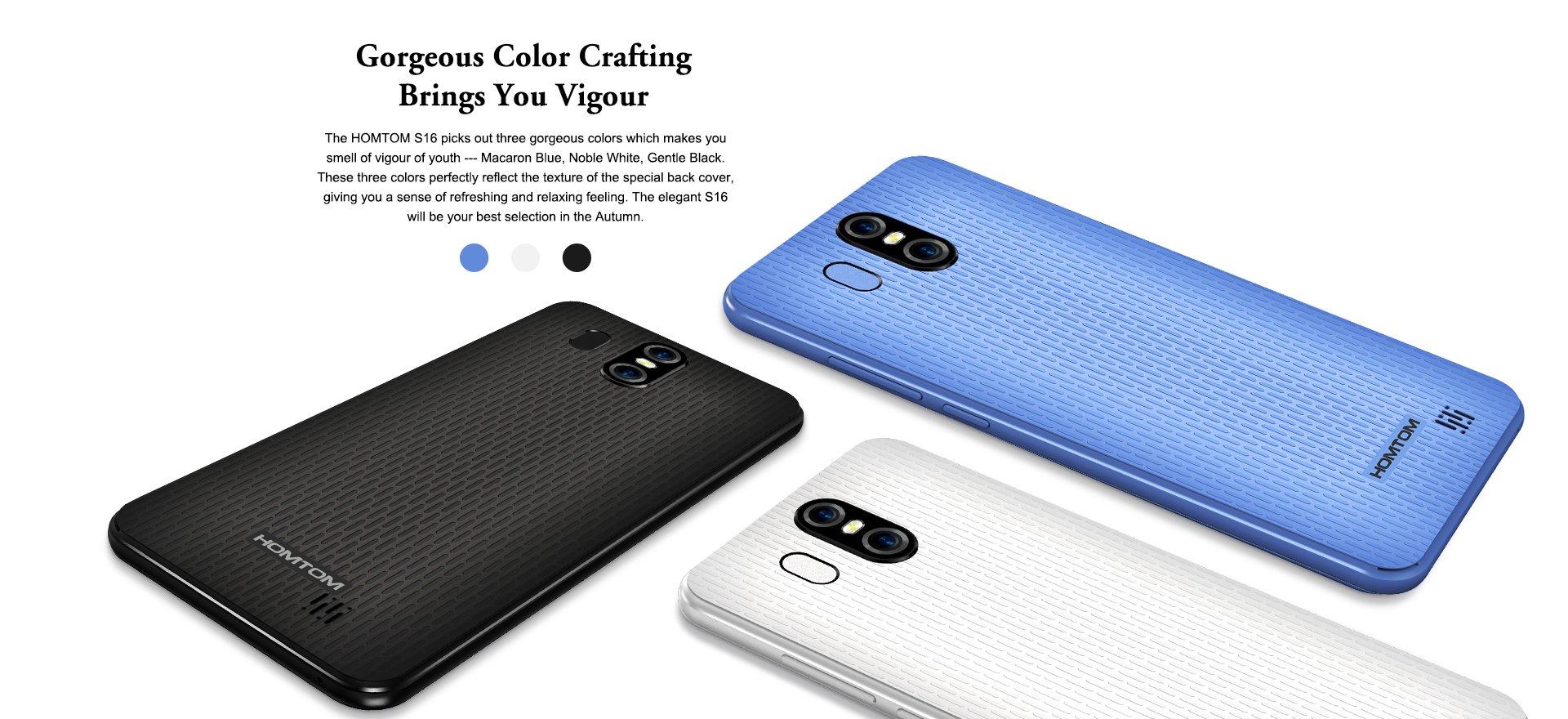 Tabletowo.pl HOMTOM S16 oficjalnie - ma ekran 18:9, podwójny aparat i jest bardzo tani Android Chińskie Nowości Smartfony
