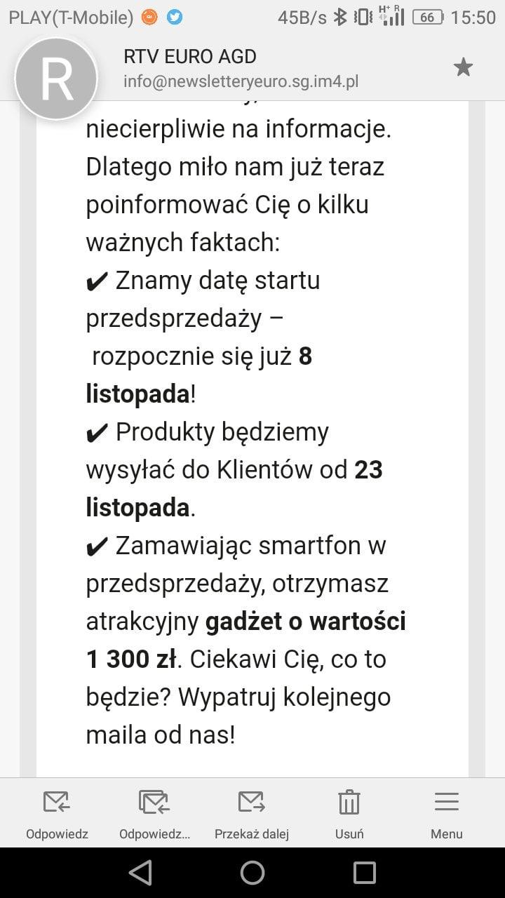 Tabletowo.pl W końcu! Wiemy, kiedy ruszy przedsprzedaż LG V30 w Polsce Android LG Smartfony