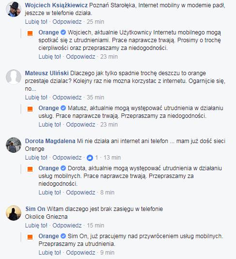 Tabletowo.pl Znowu awaria w Orange. Klienci w całym kraju zgłaszają problem z dostępem do internetu mobilnego (aktualizacja) GSM