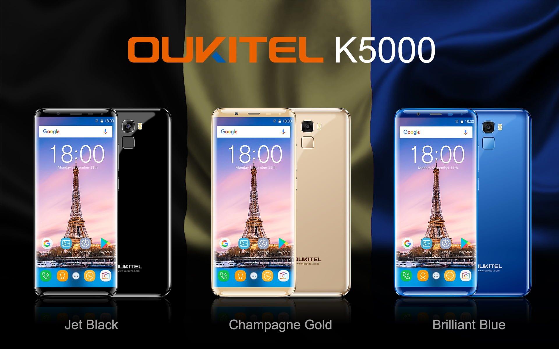 Tabletowo.pl Jutro rusza przedsprzedaż Oukitel K5000. Do końca października kupisz go taniej Android Chińskie Smartfony