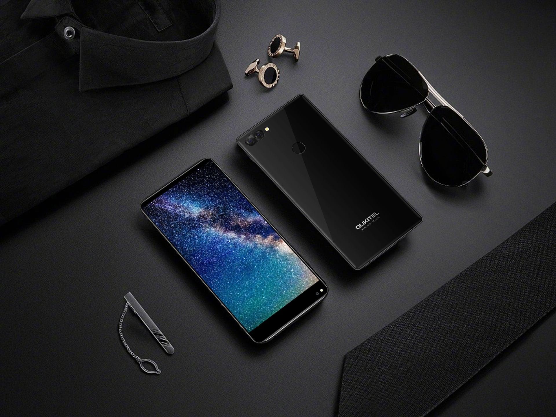 """Tabletowo.pl Poznaliśmy specyfikację """"bezramkowego"""" Oukitel Mix 2. Smartfon nie będzie się miał czego wstydzić Android Chińskie Smartfony"""