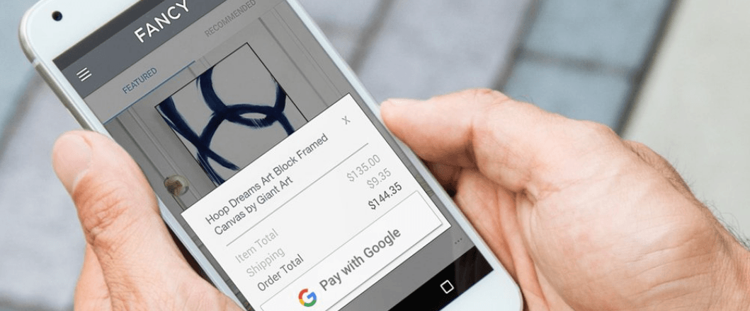Tabletowo.pl Dzięki Pay with Google finalizowanie zakupów ograniczy się do jednego tapnięcia Android Google Nowości Smartfony