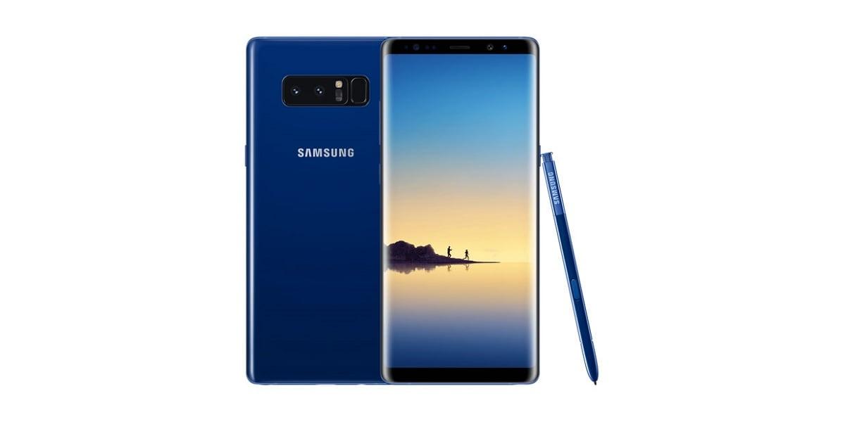 Tabletowo.pl Wiele osób czekało na niego z niecierpliwością - niebieski Samsung Galaxy Note 8 w końcu dostępny w Polsce Android Samsung Smartfony