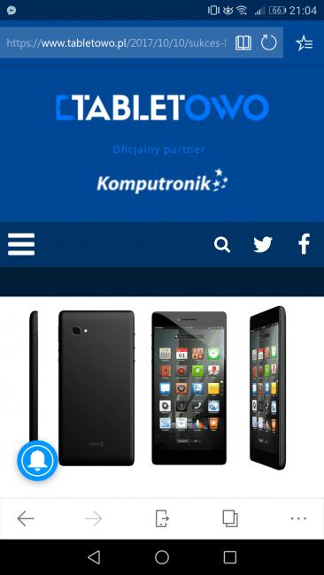 Tabletowo.pl Przęglądarka Microsoft Edge już dostępna na Androidzie Aplikacje Microsoft