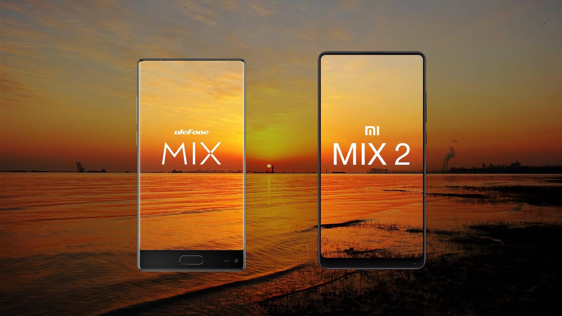 Tabletowo.pl Ulefone MIX versus Xiaomi Mix 2 - niby tak różne, a wbrew pozorom bardzo podobne Android Chińskie Smartfony Xiaomi