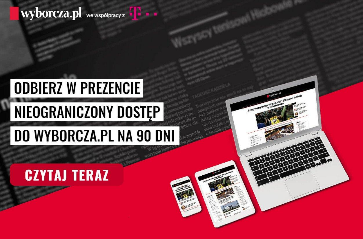 """Tabletowo.pl Za darmo: prawie trzy miesiące """"Wyborczej"""" dla klientów T-Mobile GSM Kultura Promocje"""