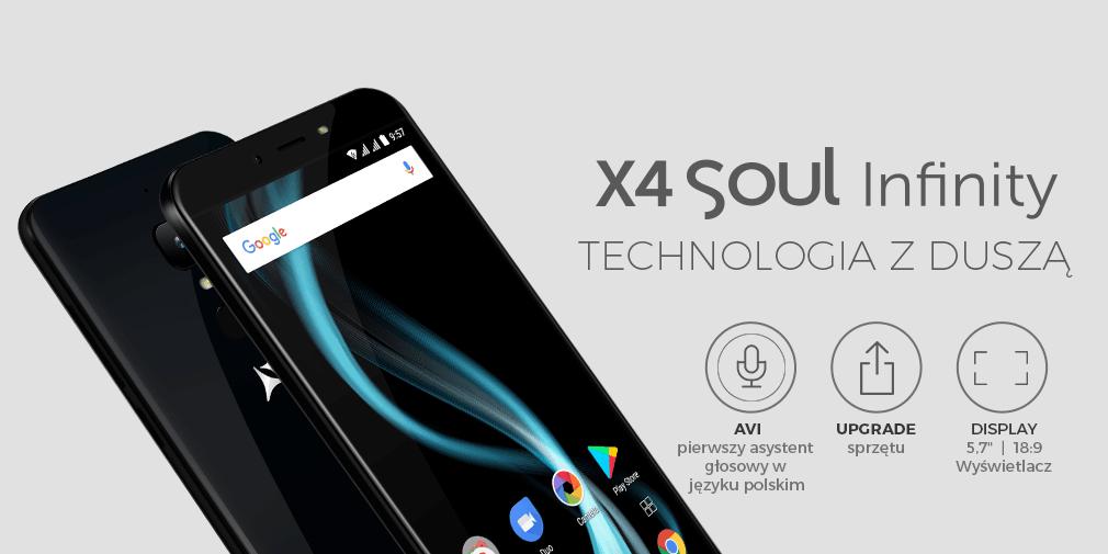 Tabletowo.pl Dziesięć lat po premierze swojego pierwszego telefonu, Allview przedstawia X4 Soul Infinity i X4 Soul Infinity Plus Allview Nowości Smartfony