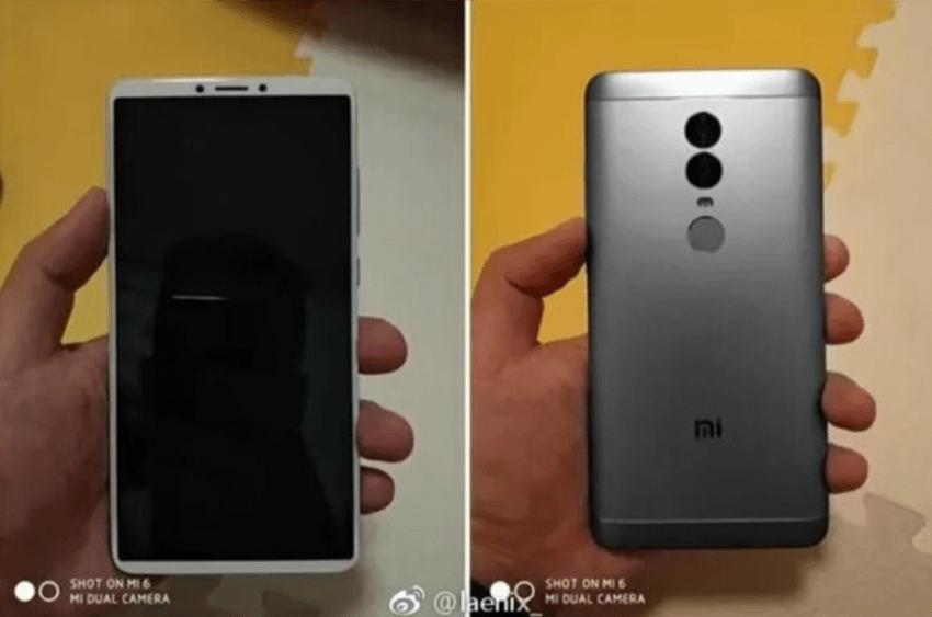 """Tabletowo.pl Z takim wzornictwem Xiaomi Redmi Note 5 (Plus) może spokojnie dołączyć do """"bezramkowców"""" Plotki / Przecieki Smartfony Xiaomi"""