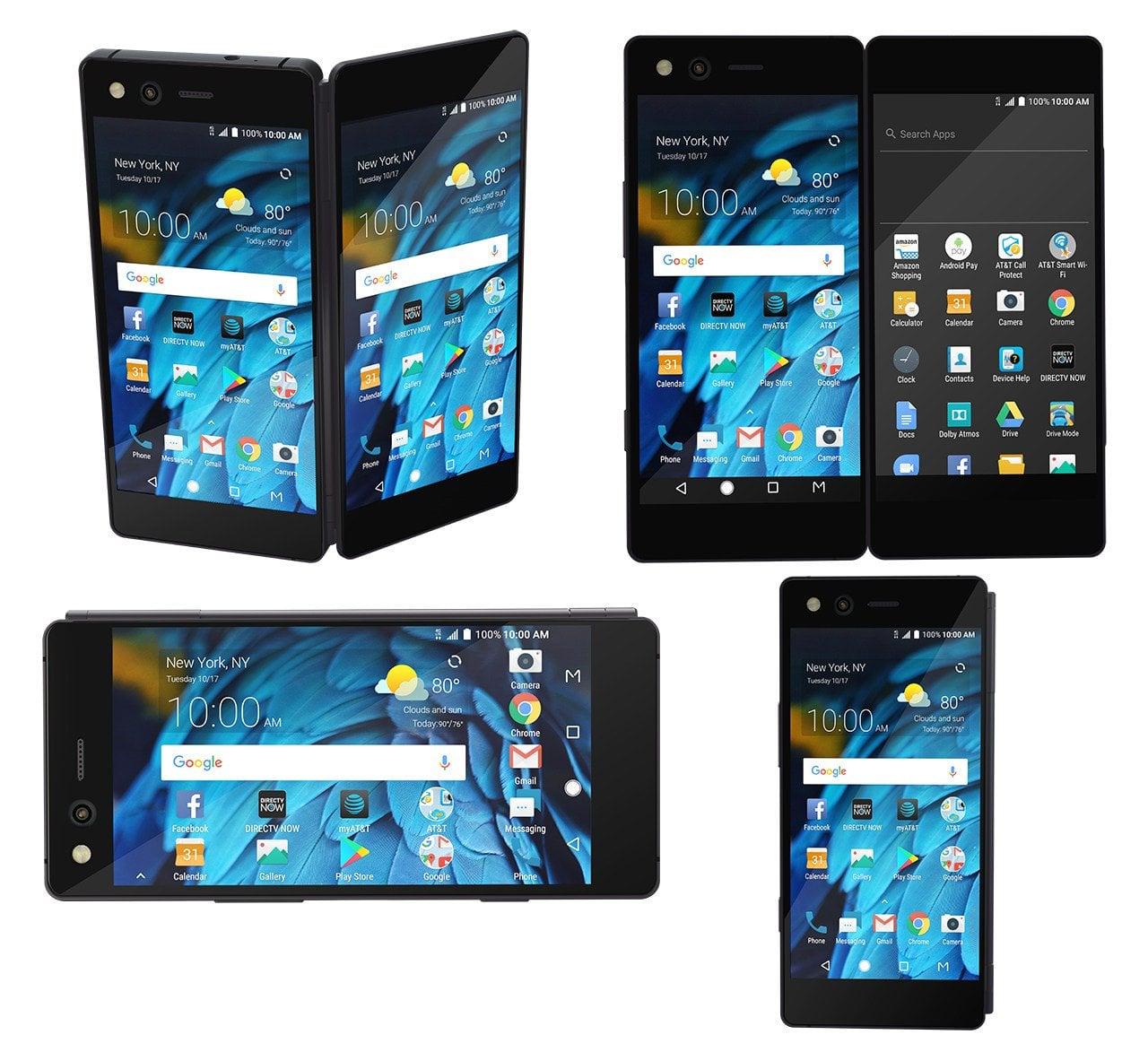Tabletowo.pl Składany smartfon ZTE Axon M zadebiutował. Miał być szał, ale go nie ma Android Nowości Smartfony Tablety