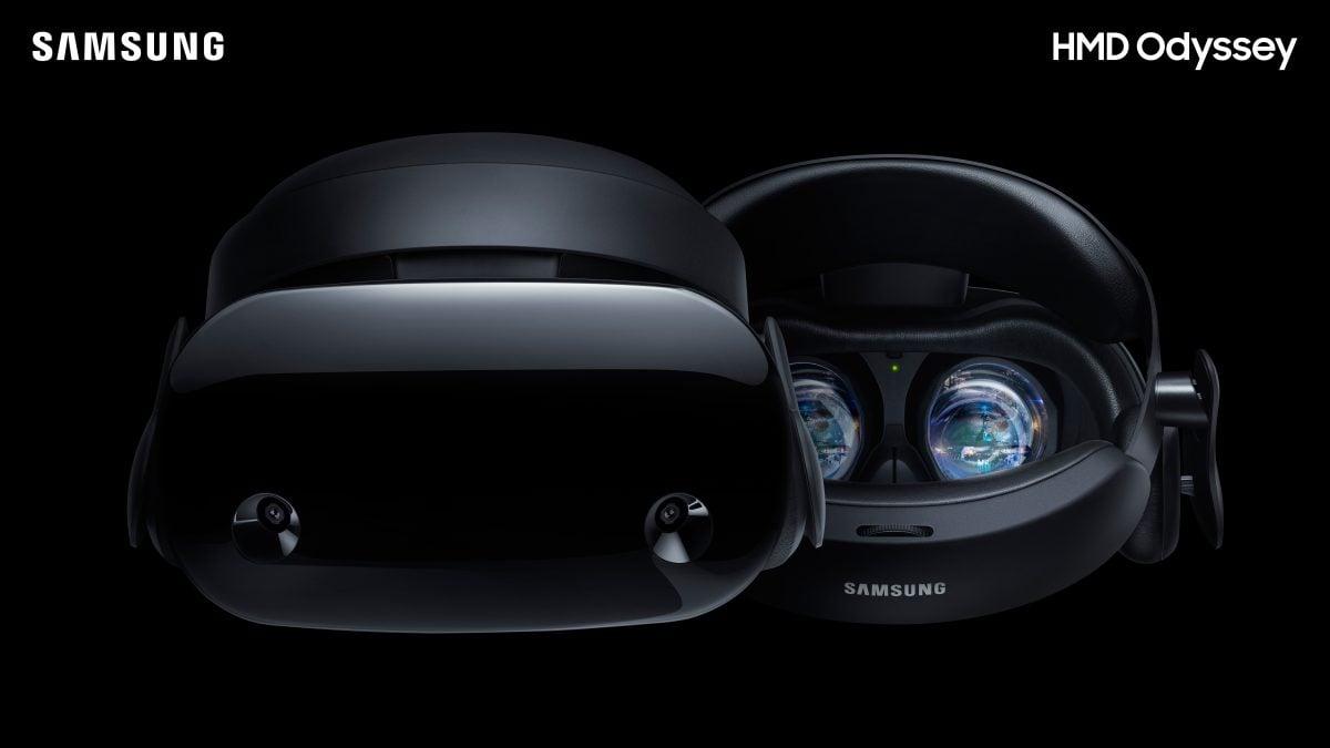 Tabletowo.pl Nie czekaliśmy zbyt długo: Samsung prezentuje zestaw VR HMD Odyssey, powstały przy współpracy z Microsoftem Microsoft Rozszerzona rzeczywistość Samsung
