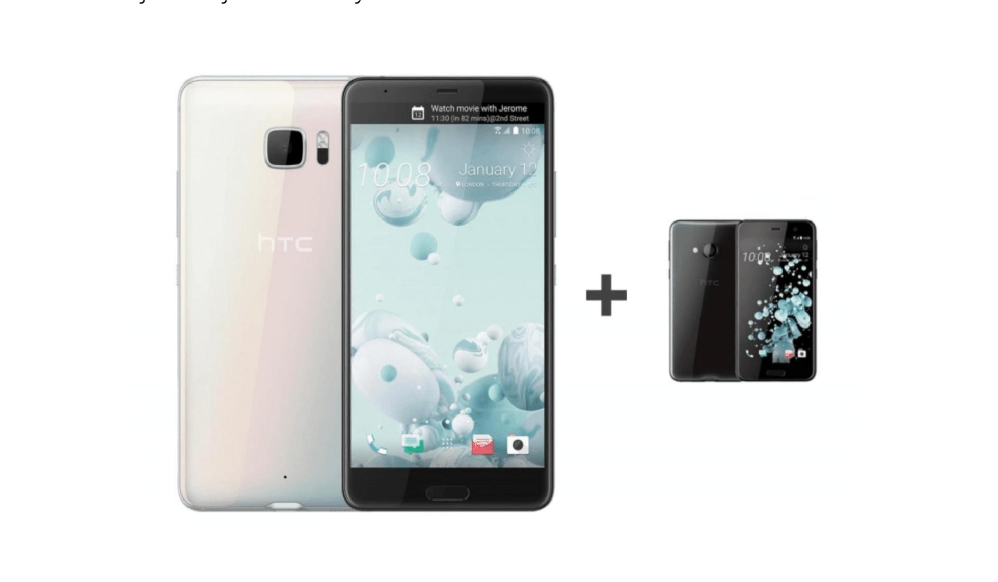 Tabletowo.pl I to jest promocja! Przy zakupie HTC U Ultra, dostaniesz model U Play całkowicie za darmo HTC Promocje Smartfony