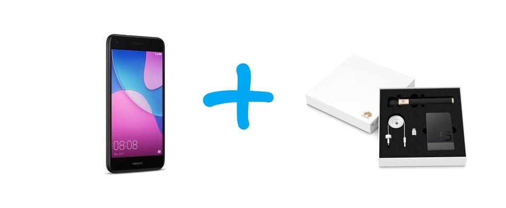 Tabletowo.pl Promocja: do Huawei P9 Lite Mini dorzucają pokaźny zestaw akcesoriów gratis Huawei Promocje Smartfony