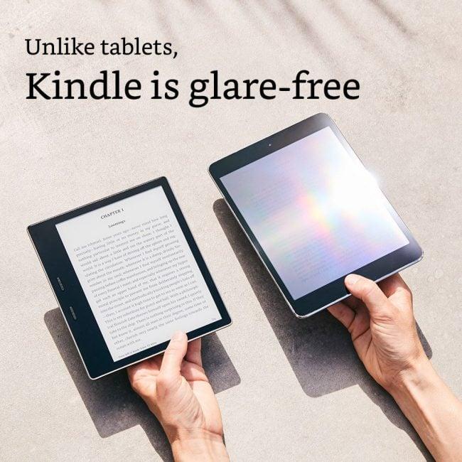 Tabletowo.pl Oto pierwszy wodoodporny, 7-calowy czytnik Amazonu: Kindle Oasis 2 Nowości Sprzęt
