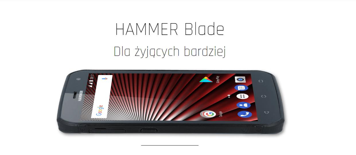 Tabletowo.pl Hammer Blade to wytrzymały smartfon dla bardziej wymagających użytkowników Android Nowości Smartfony