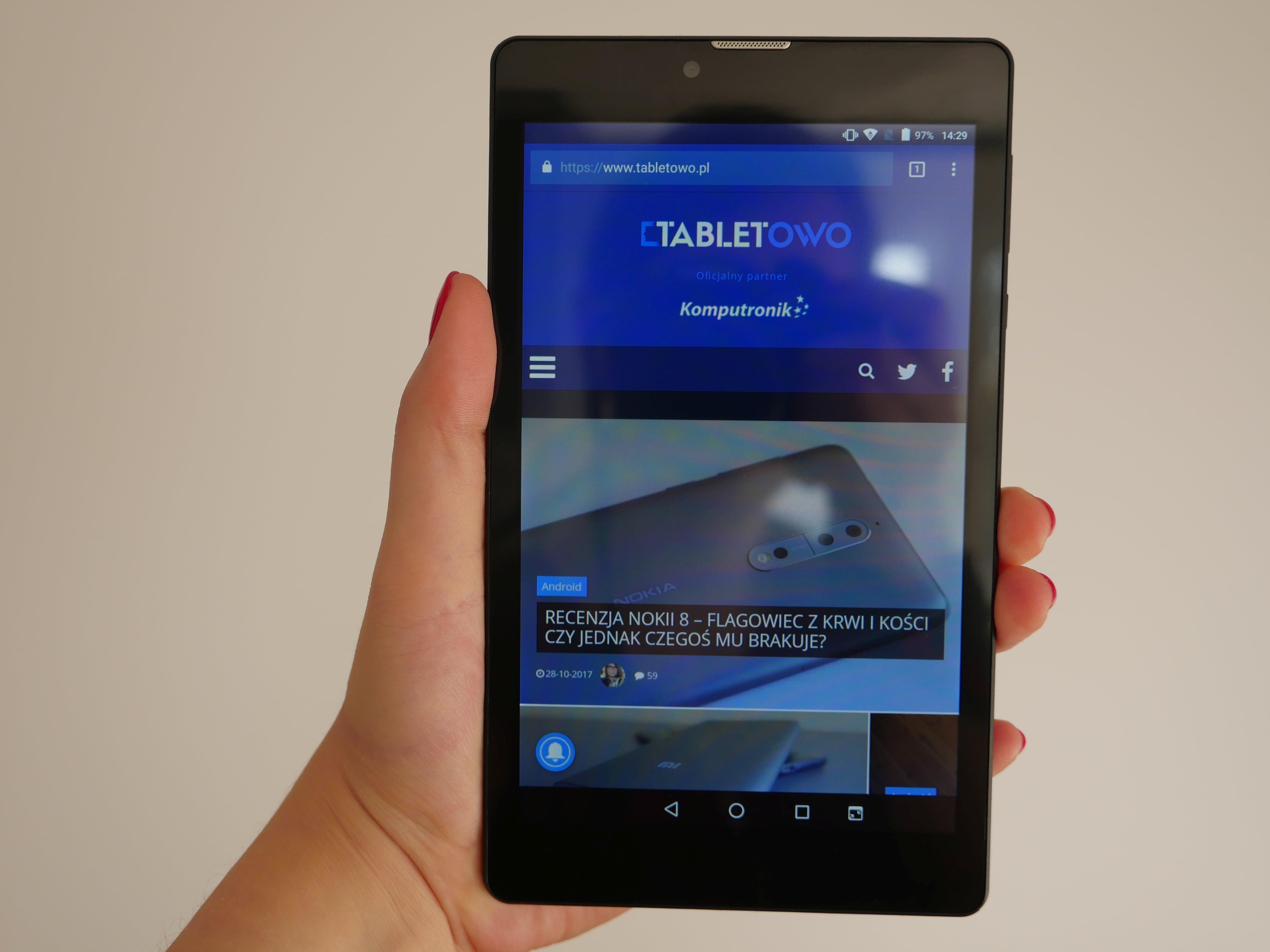 Recenzja Navitel T500 3G - jednego z najtańszych tabletów dostępnych na rynku 24