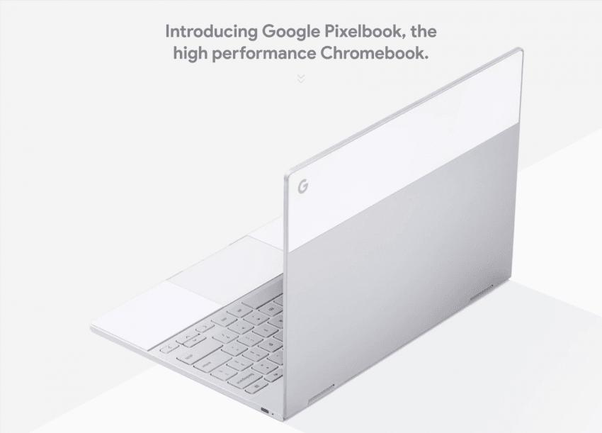 Tabletowo.pl Google Pixelbook - Chromebook z wysokiej półki prosto od samego Google Google Nowości