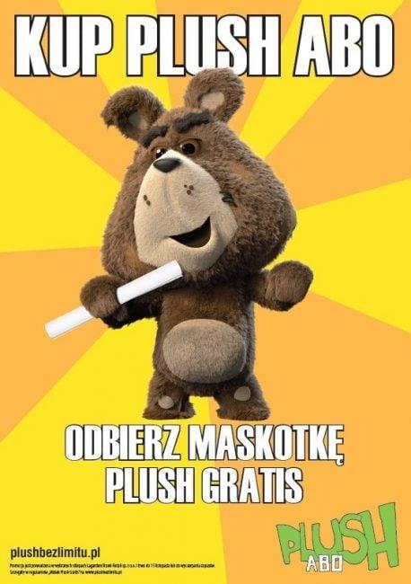 Tabletowo.pl Podpisz umowę na Plush ABO za 25 złotych miesięcznie, a otrzymasz w prezencie pluszowego miśka GSM Promocje