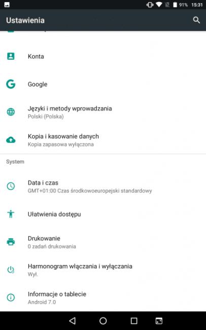 Recenzja Navitel T500 3G - jednego z najtańszych tabletów dostępnych na rynku 38