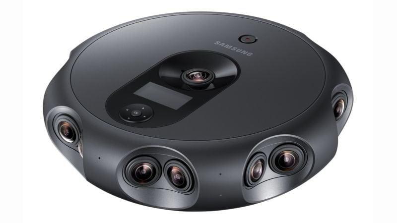 Tabletowo.pl Może wygląda jak odkurzacz, ale to kamera Samsunga za ponad 10500 dolców Nowości Technologie Wirtualna rzeczywistość