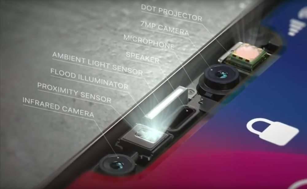 Tabletowo.pl A to dobre: w razie problemów z Face ID w iPhonie X, Apple zaleca naprawę tylnego aparatu Apple Smartfony