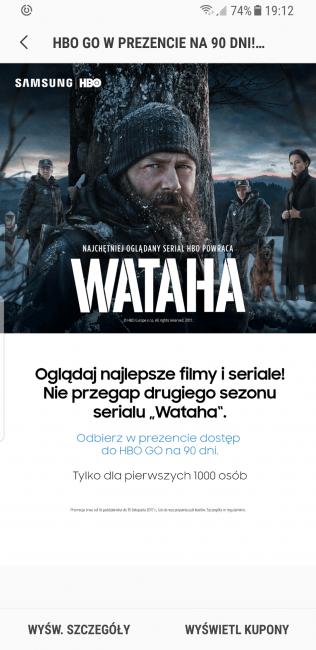 Tabletowo.pl Fajny prezent od Samsunga i HBO - 90 dni dostępu do usługi HBO GO. Ale trzeba się pospieszyć Android Promocje Samsung Smartfony