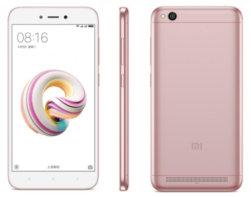 Xiaomi Redmi 5A zaprezentowany - to samo, co Redmi 4A, tylko że w (jakby) metalowej obudowie i z mniejszą baterią 25