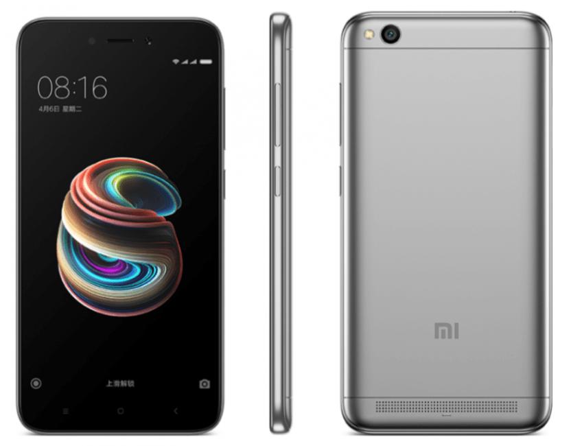 Xiaomi Redmi 5A zaprezentowany - to samo, co Redmi 4A, tylko że w (jakby) metalowej obudowie i z mniejszą baterią 27