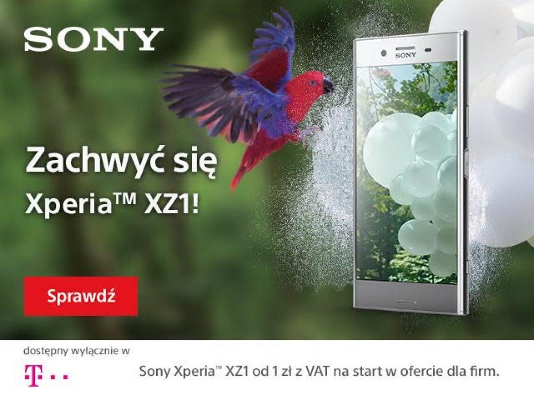 Tabletowo.pl Sony Xperia XZ1 już trafia do operatorów - do końca roku będzie dostępna tylko w T-Mobile GSM Smartfony Sony