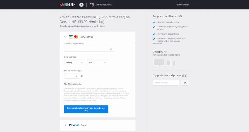 Tabletowo.pl Deezer kontratakuje - testowa usługa HiFi dla (prawie) każdego Aplikacje Nowości