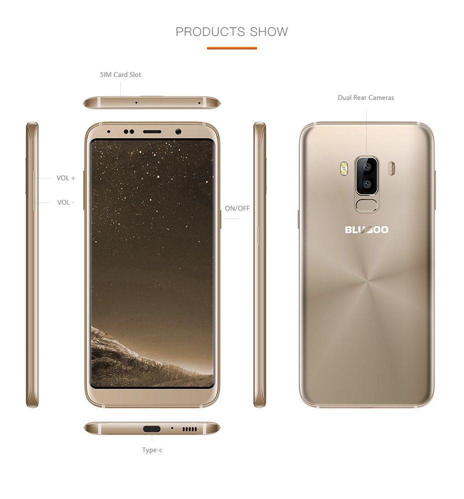 Tabletowo.pl Bluboo S8 to wyjątkowo tani, inspirowany Galaxy S8 smartfon, który kupisz teraz również w Polsce Android Chińskie Smartfony