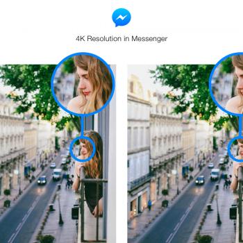 Tabletowo.pl Od teraz można wysyłać w Messengerze zdjęcia w rozdzielczości nawet 4K Aktualizacje Aplikacje Social Media
