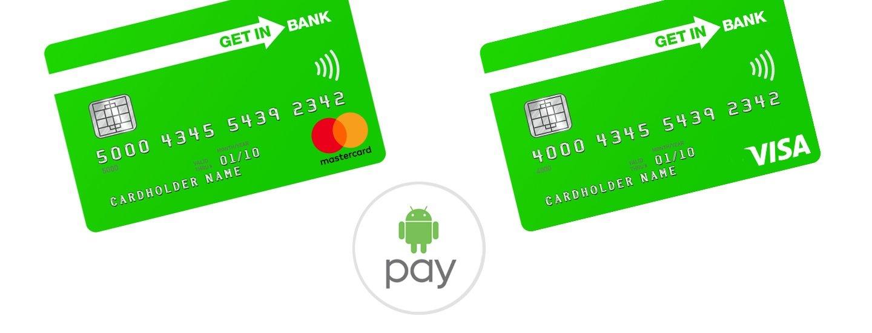 Tabletowo.pl Klienci Getin Banku mogą już korzystać z Android Pay Google Nowości