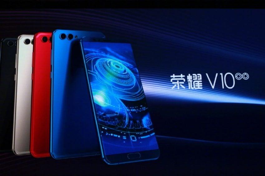 Tabletowo.pl I jest: Honor V10 zaprezentowany podczas konferencji w Chinach Huawei Nowości Smartfony