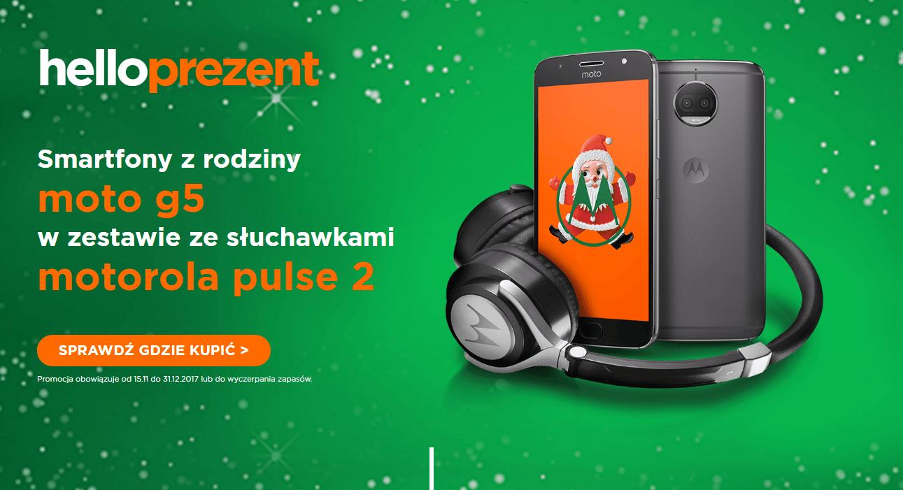 Promocja: kup smartfon z rodziny Moto G5 i odbierz w prezencie słuchawki Motorola Pulse 2 17
