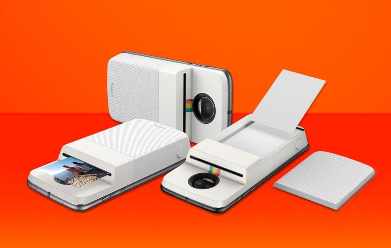 Tabletowo.pl Motorola prezentuje nowy Moto Mod - Polaroid Insta-Share, czyli przyczepianą na plecki drukarkę do zdjęć Akcesoria Android Lenovo Motorola Nowości Smartfony