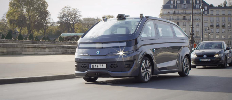 Navya prezentuje taksówkę z czwartym stopniem autonomiczności 25