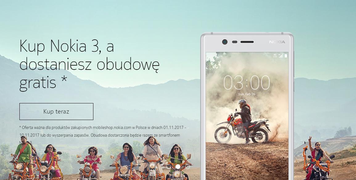 Tabletowo.pl Nokia otworzyła swój sklep internetowy. Są gratisy dla kupujących Akcesoria Android Nokia Nowości Smartfony