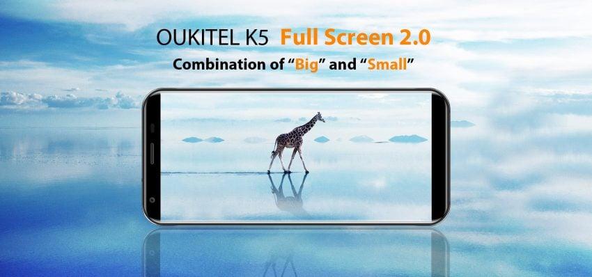 Tabletowo.pl Oukitel szykuje nowy smartfon - będzie to model K5, z ekranem o proporcjach 18:9 Chińskie Nowości Smartfony