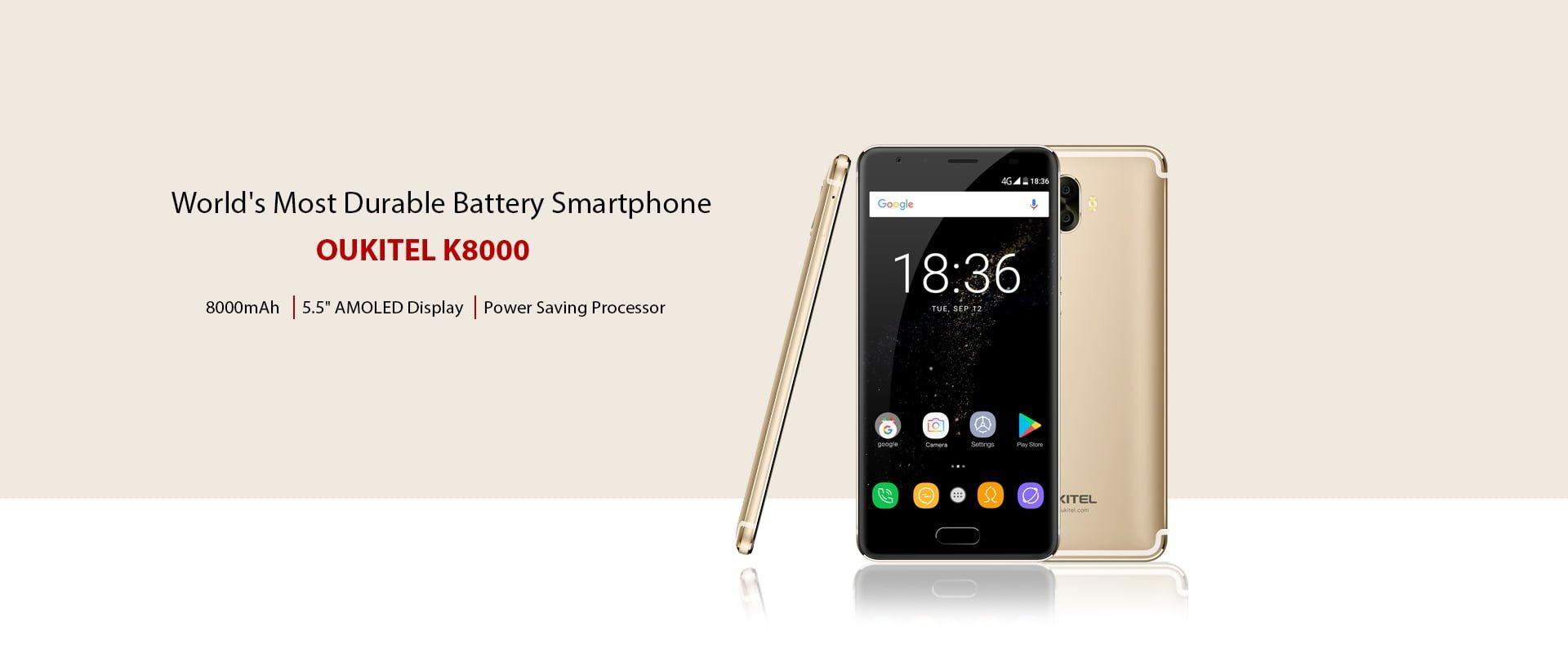 Tabletowo.pl Niemożliwe? A jednak - Oukitel K8000 z baterią 8000 mAh działa dłużej niż Oukitel K10000 Pro z ogniwem 10000 mAh Android Chińskie Smartfony