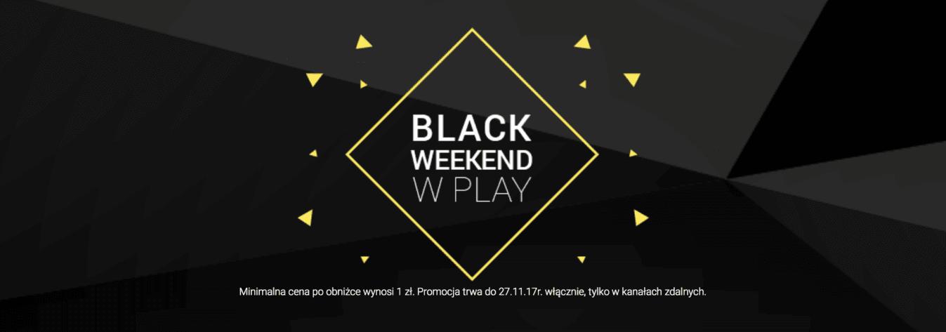Tabletowo.pl Czarny Piątek w Play na bardzo prostych zasadach - rabat 100 złotych na wszystkie urządzenia GSM Promocje
