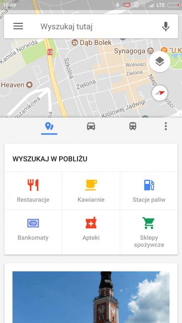 Tabletowo.pl Dzięki nowej aktualizacji Map Google, aplikacja wygląda nieco lepiej Aktualizacje Aplikacje Google