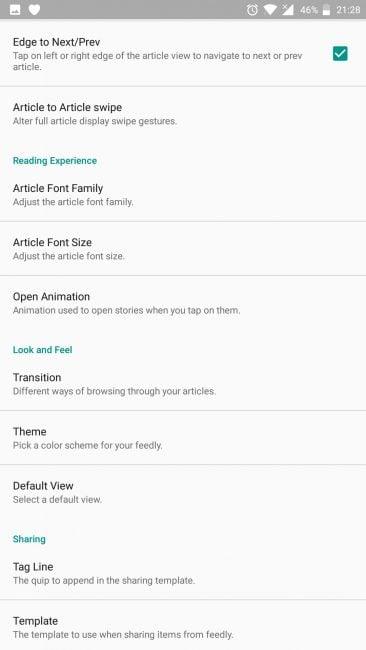 Aplikacja tygodnia #7 - Feedly