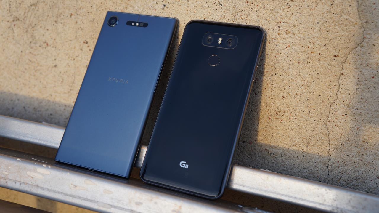 Porównanie klasyki i współczesności - Sony Xperia XZ1 vs LG G6 22
